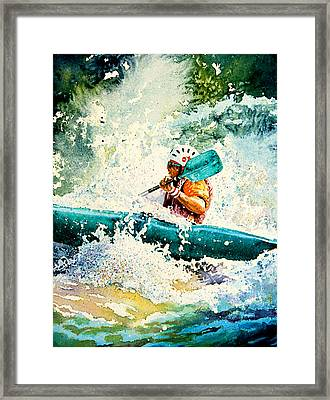River Rocket Framed Print
