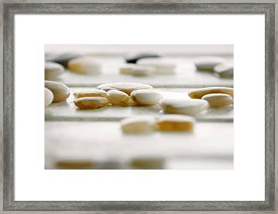 River Rocks 1 Framed Print