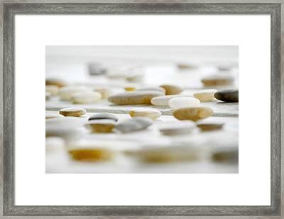 River Rocks 2 Framed Print
