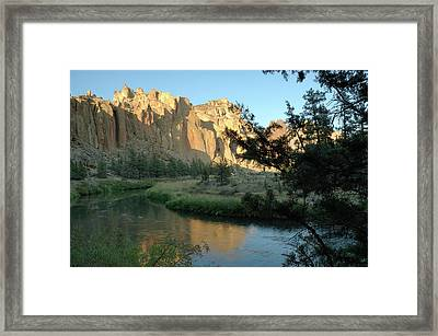 River Rocks Framed Print by Arthur Fix