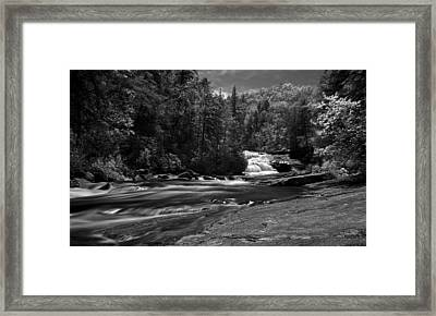 Framed Print featuring the photograph River Run by David Stine