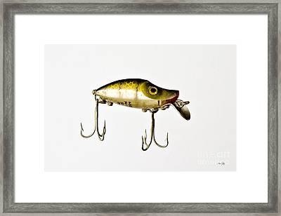 River Runt Framed Print by Scott Pellegrin