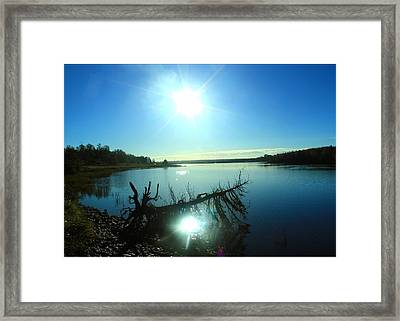 River Ryan Framed Print by Jason Lees