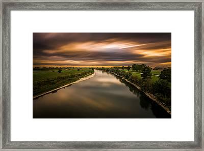 River Sava Framed Print