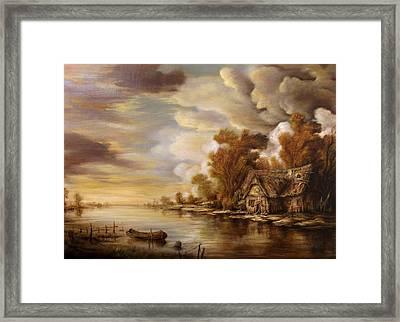 River Scene 3 Framed Print