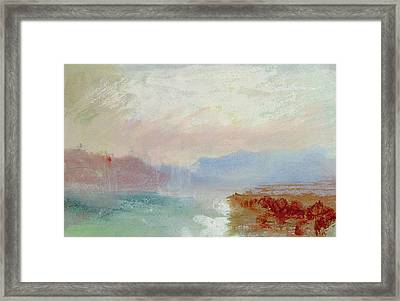 River Scene Framed Print
