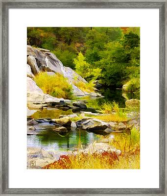 River Spirit Framed Print