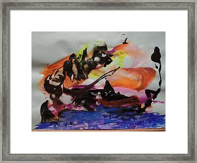 River Styx Framed Print