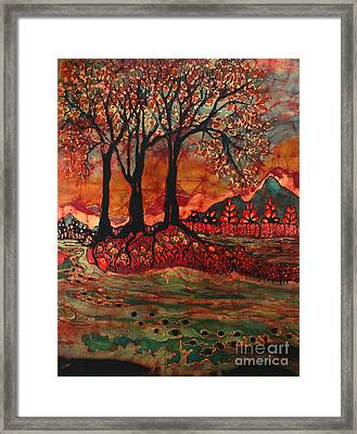 River Sunrise - Lothlorien Framed Print