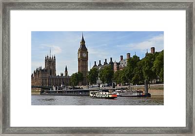 River Thames View Framed Print