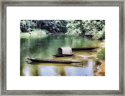 River Tribe Framed Print