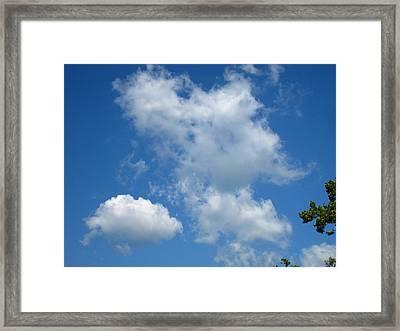 River Tubing - 12125 Framed Print