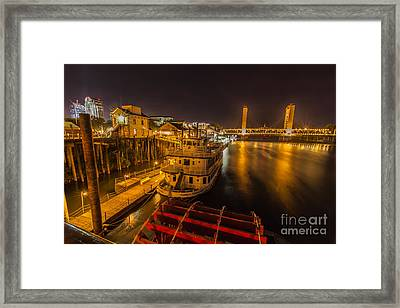 River View Framed Print by Charles Garcia