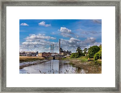 River View. Framed Print by Gary Gillette