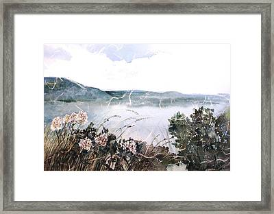 River View Framed Print