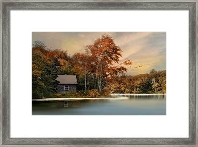 River View Framed Print by Robin-Lee Vieira