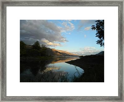 River Walk Framed Print