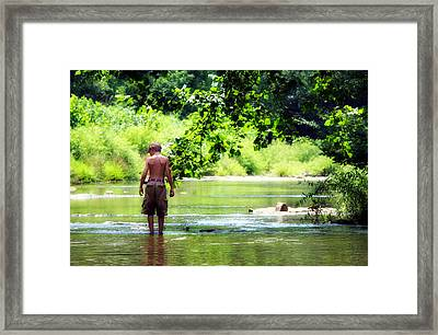 River Walk Framed Print by Tamara Gentuso