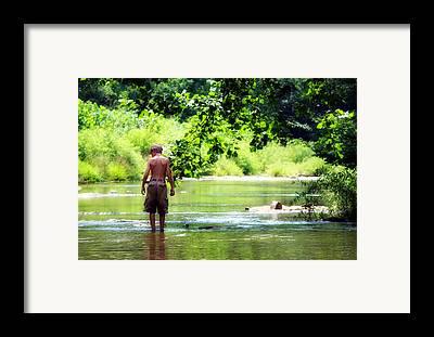 Little Harpeth River Framed Prints