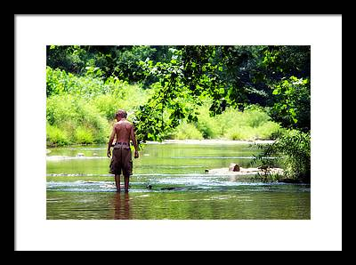 Little Harpeth River Framed Prints