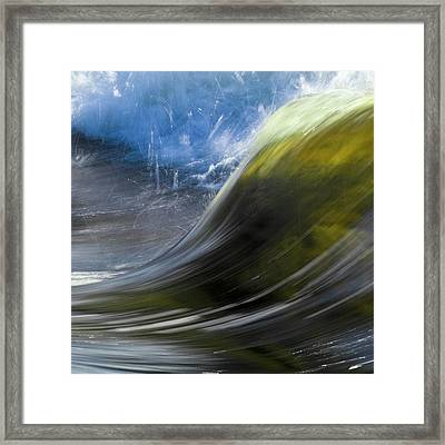 River Wave Framed Print by Heiko Koehrer-Wagner