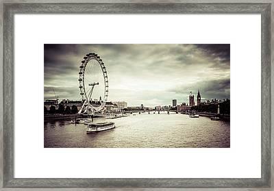 Riverbank 2 Framed Print by Daniel Kocian