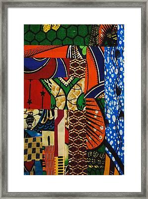 Riverbank Framed Print