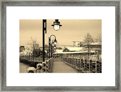 Riverfront Framed Print