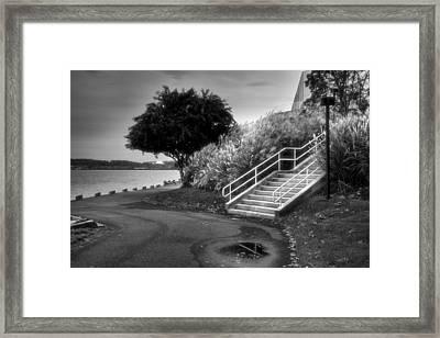 Riverfront Park I Framed Print
