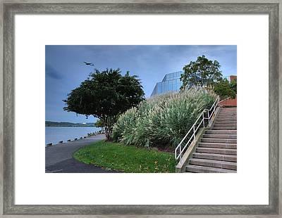 Riverfront Park II Framed Print by Steven Ainsworth