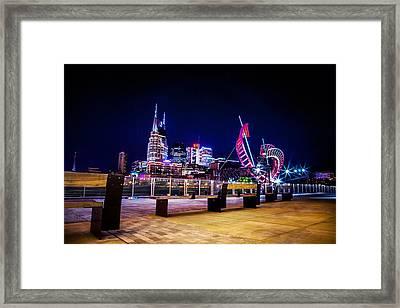 Riverfront Vista Framed Print by Lucas Foley