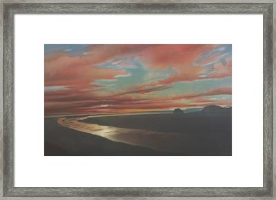 Rivermouth Framed Print