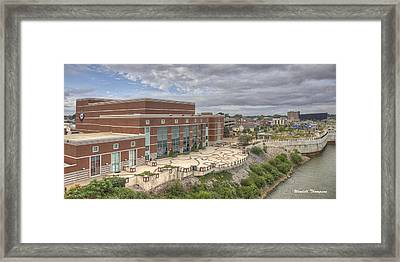 Riverpark Center And Smothers Park Framed Print by Wendell Thompson