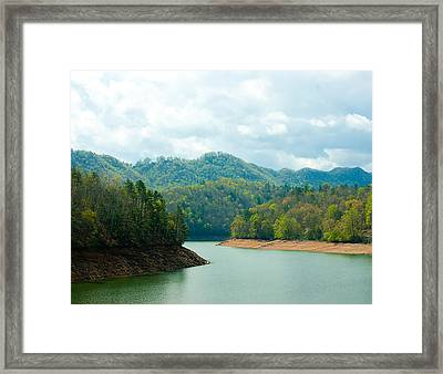 Rivers Bend Framed Print