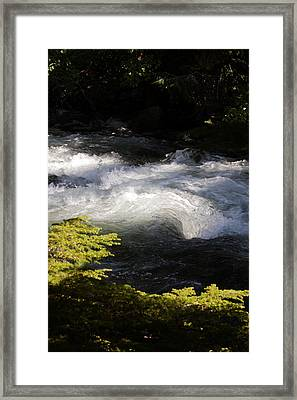 River's Ebb Framed Print
