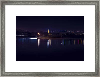 Rivers Edge Framed Print by Joshua Dwyer