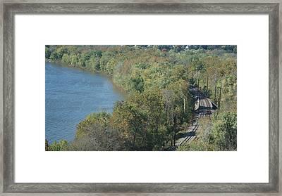 Rivers Edge   # Framed Print