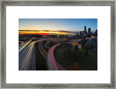 Rivers Of Life Framed Print by Ryan Manuel