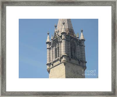 Riverside Church Framed Print