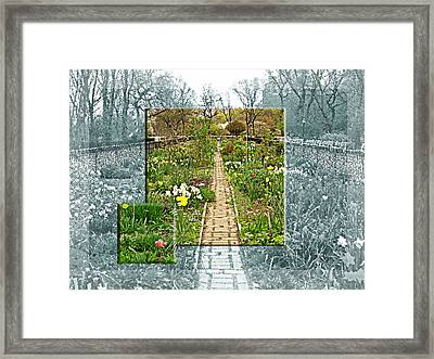 Riverside Garden Framed Print by Sarah McKoy