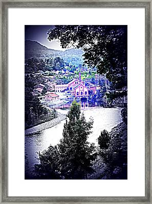 We Went Down To The Riverside  Framed Print