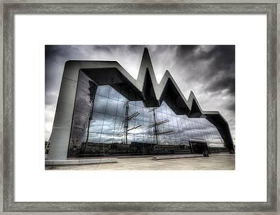 Riverside Museum Framed Print