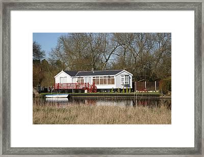 Riverside Retreat Framed Print by Mark Severn