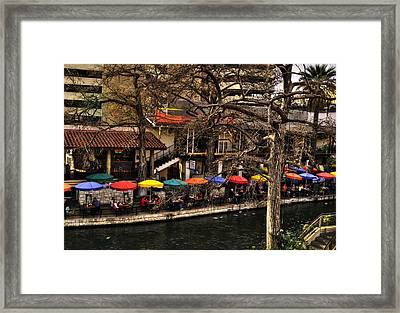 Framed Print featuring the photograph Riverview by Deborah Klubertanz