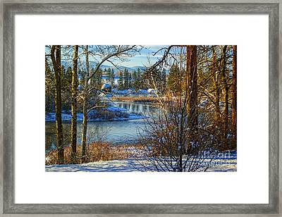 Riverview II Framed Print by Beve Brown-Clark Photography