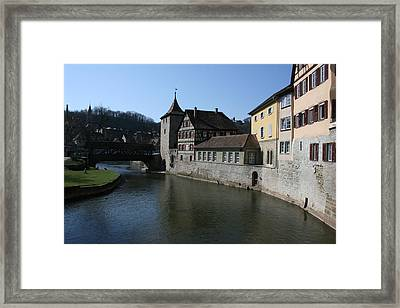 Framed Print featuring the photograph Riverview by Steve Godleski