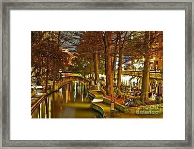 Riverwalk Framed Print