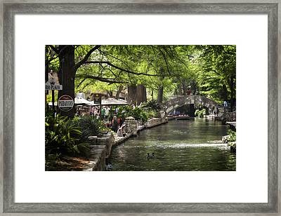 Framed Print featuring the photograph Girl By The Water by Steven Sparks