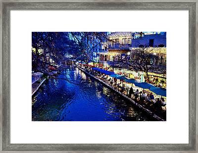 Riverwalk Framed Print by Ricardo J Ruiz de Porras