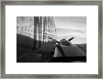 Riveted Framed Print by Amber Kresge